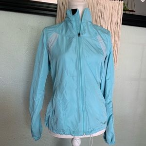 Brooks light weight zip up jacket